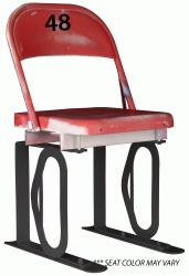 Daytona Metal Chair (#48) Black Track Bottom