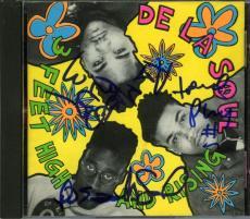De La Soul 3 Feet High & Rising Autographed Signed CD Certified PSA/DNA AFTAL