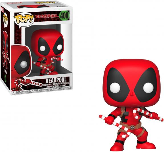 Deadpool Marvel #400 with Candy Canes Funko Pop!