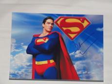 Dean Cain Signed 8x10 Photo Superman Lois & Clark Coa