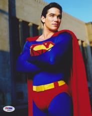 Dean Cain SIGNED 8x10 Photo Superman PSA/DNA AUTOGRAPHED