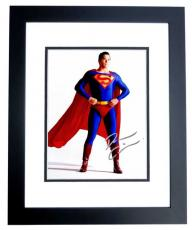 Dean Cain Signed - Autographed Superman - Lois & Clark 8x10 inch Photo BLACK CUSTOM FRAME - Guaranteed to pass PSA/DNA or JSA