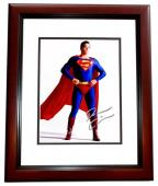 Dean Cain Signed - Autographed Superman - Lois & Clark 8x10 inch Photo MAHOGANY CUSTOM FRAME - Guaranteed to pass PSA/DNA or JSA