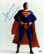 Dean Cain Signed Superman Authentic Autographed 8x10 Photo PSA/DNA #Y17424