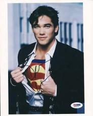 Dean Cain Superman Signed 8x10 Photo Autographed Psa/dna #l66172