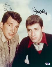 "Dean Martin And Jerry Lewis Autographed 11"" x 14"" The Martin And Lewis Show Photograph - PSA/DNA LOA"