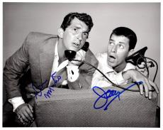 Dean Martin and Jerry Lewis Signed - Autographed Martin and Lewis Comedy Duo 8x10 inch Photo - Both Deceased - Guaranteed to pass PSA/DNA or JSA