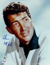 "Dean Martin Autographed 11"" x 14"" The Rat Pack Photograph - PSA/DNA LOA"