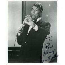 Dean Martin Autographed 8x10 Photo