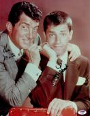 "Dean Martin & Jerry Lewis Autographed ""11 x 14"" Posed Photograph - PSA/DNA LOA"