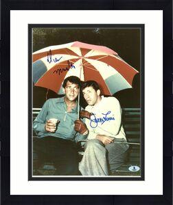 Dean Martin & Jerry Lewis Signed 11X14 Photo Autographed BAS #A00361