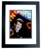 Dean Martin Signed - Autographed Singer - Actor 8x10 inch Photo BLACK CUSTOM FRAME - Guaranteed to pass PSA or JSA - Singer/Actor Ruettiger
