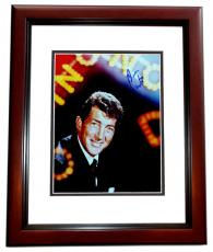 Dean Martin Signed - Autographed Singer - Actor 8x10 inch Photo MAHOGANY CUSTOM FRAME - Guaranteed to pass PSA or JSA - Singer/Actor Ruettiger