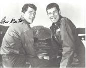 """DEAN MARTIN - SINGER/ACTOR - Joined with Jerry Lewis as One of the Greatest COMEDY TEAMs- Member of the """"RAT PACK"""" Passed Away 1995 - Signed 10x8 B/W Photo"""
