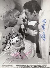 Dean Martin & Stella Stevens Signed How To Save A Marriage 8x10 Photo JSA LOA