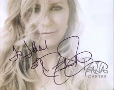 DEANA CARTER HAND SIGNED 8x10 COLOR PHOTO+COA        GORGEOUS SINGER    TO JOHN