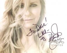 DEANA CARTER HAND SIGNED 8x10 PHOTO+COA      GORGEOUS COUNTRY SINGER     TO DAVE