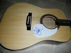 Deana Carter Signed Autographed Acoustic Guitar PSA Guaranteed Coutry Music