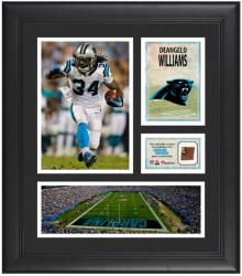 "Deangelo Williams Carolina Panthers Framed 15"" x 17"" Collage with Game-Used Football"