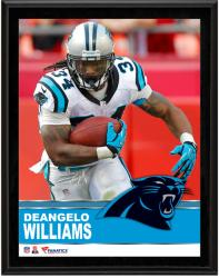 DeAngelo Williams Carolina Panthers Sublimated 10.5'' x 13'' Plaque - Mounted Memories