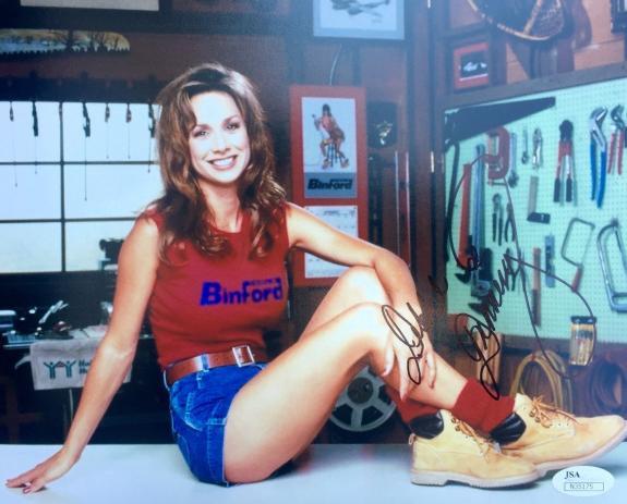 Debbe Dunning (Heidi Keppert) Home Improvement Signed 8x10 Photo Jsa N35175