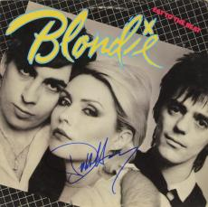 Debbie Harry Autographed Blondie Eat To The Beat Album Cover - PSA/DNA COA