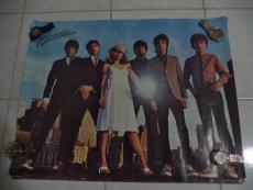 Debbie Harry Blondie 1979 Original Poster 22x28 Authentic Rare Music Legend