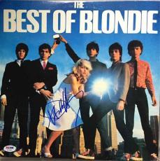 Debbie Harry Blondie Autographed Signed Album LP Record Certified Authentic PSA/