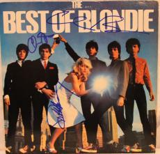 Debbie Harry, Chris Steen & Clem Burke Signed BLONDIE Album LP JSA #L26738