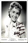 Debbie Reynolds, Deceased Carrie Fisher's Mom Signed&   Inscribed 8x10 With Coa