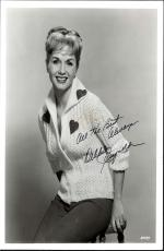 Debbie Reynolds,  Deceased Carrie Fisher's Mom Signed Sweater 8x10 With Coa
