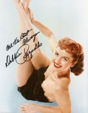 Debbie Reynolds, Signed Deceased Carrie Fisher's Mom  Looking Sexy 8x10 With Coa