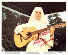 "Debbie Reynolds, Signed Deceased Carrie Fisher's Mom ""singing Nun"" 8x10 With Coa"