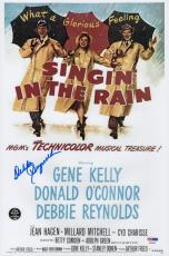 Debbie Reynolds Signed Singin' In The Rain 10x15 Movie Poster Psa Coa P64304