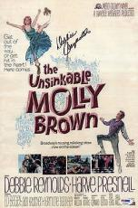 Debbie Reynolds Autographed The Unsinkable Molly Brown 10x15 Movie Poster PSA P79491