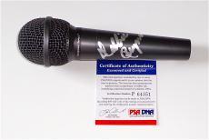 Debbie Reynolds Singin' In The Rain Signed Microphone Psa Coa P64351