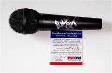 Debbie Reynolds Singin' In The Rain Signed Microphone Psa Coa P64352