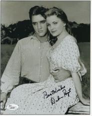DEBRA PAGET HAND SIGNED 8x10 PHOTO+COA      LOVE ME TENDER WITH ELVIS PRESLEY