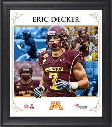 "Eric Decker Minnesota Golden Gophers Framed 15"" x 17"" Core Composite Photograph"