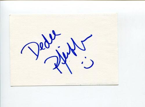 Dedee Pfeiffer Friends For Your Love Cybill Seinfeld Falling Do Signed Autograph