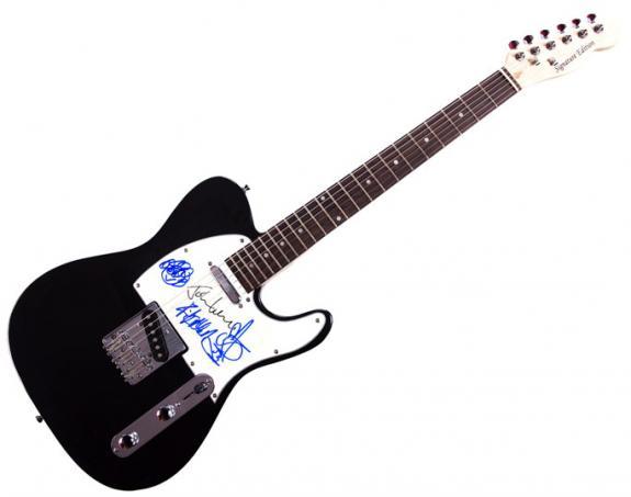 Def Leppard Autographed Signed Tele Guitar UACC RD PSA AFTAL