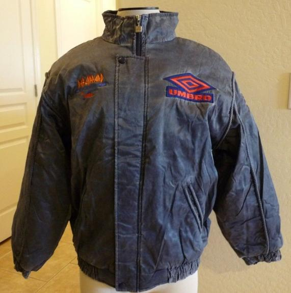 Def Leppard Seven Day Weekend 92/93 REAL Crew Issued Tour Jacket Coat NEVER WORN