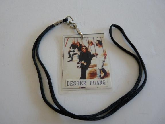 Def Leppard Slang Promo Tour Issued Used Backstage Pass Laminate 100% Real
