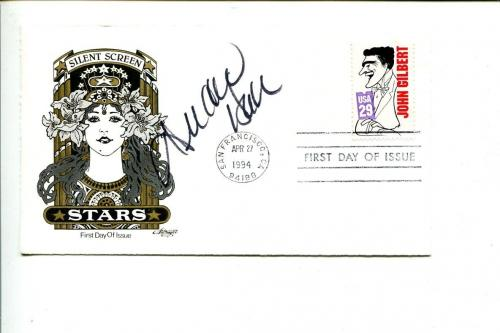Deidre Hall Days of Our Lives DOOL Our House Electra Woman Signed Autograph FDC