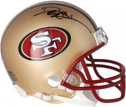 San Francisco 49ers Deion Sanders Autographed Mini Helmet