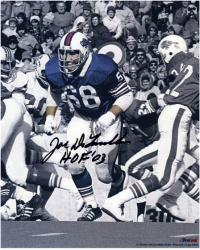 "Joe DeLamielleure Buffalo Bills Autographed 8x10 Photograph with ""HOF 03"" Photograph - Mounted Memories"