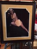 "Deluxe Framed, Marilyn Monroe, 16x20 Photo, (Early Marilyn) ""Yellow Bikini"