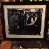 Deluxe Framed, Rolling Stones,16x20 Photo (Mick Jagger / Keith Richards)