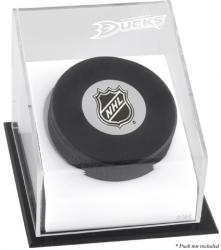 Anaheim Ducks Puck Logo Display Case - Mounted Memories