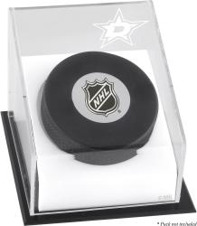 Dallas Stars Puck Logo Display Case - Mounted Memories